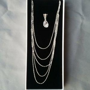 Victoria Secret Bra accessory necklace